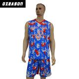 Bester Entwurf Camo Breathable Dri passende Basketball-Jersey-Kurzschlüsse (BK022)