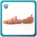 Il custode di figura dei pattini di cuoio di legno fa il grande albero del pattino