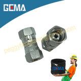 Encaixes hidráulicos inoxidáveis da tubulação de aço de Gema