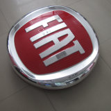 Because Dealership Store Acrylic Face Chromium plates 3D Because Sign Logo