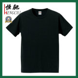 T-shirts ordinaires de coton pour promotionnel avec différentes couleurs