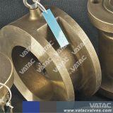 Espigão completo inoxidável da válvula de retenção de placa dupla