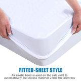 Fodera per materassi impermeabile misura libera del vinile e respirabile - re Size