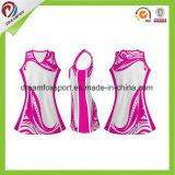 Se Sublima Netball personalizados uniforme para as mulheres Netball camisolas