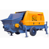 Carro del mezclador concreto de la transmisión y pompa hydráulica portables diesel usados