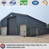 Helles Stahlkonstruktion-Gebäude für Werkstatt mit Portalrahmen