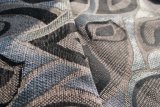 家具製造販売業パターンシュニールのジャカードファブリックおよび織物(FTH31119)