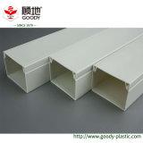 Conduit en plastique carrée en PVC pour la protection du câble électrique