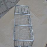 Almacenamiento de acero inoxidable 304 Cesta/desinfectar canasta de metal