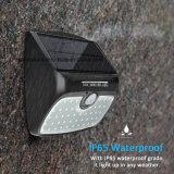 48 amovible LED témoin du capteur de mouvement IRP solaire 3 Modes de jardin et de plein air à l'intérieur de l'éclairage de nuit d'urgence