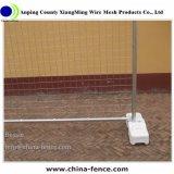 Pesado de venda populares 2.4 m de altura a Austrália Temp Painéis esgrima com pés de concreto de plástico (XMR59)