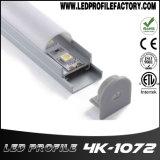 Profil en aluminium pour barre d'éclairage à LED à montage mural