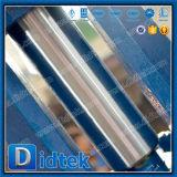 Klep van de Poort van het Eind van Wcb van Didtek de Pneumatische Aangedreven Van een flens voorzien