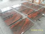 Строительный материал натуральный камень Индии красного гранита для кухонных плит на прилавок&плитки