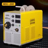 La technologie de l'onduleur IGBT MIG 200 Machine à souder MIG