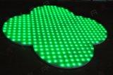 Sector especial forma única fase de casamento iluminação LED RGB de Dança