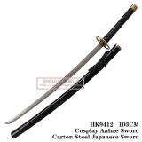 Lixívia Ichimaru Gin Alma corte de faca Katana Espada 1: 1