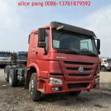 Flat Roof Cabine를 가진 HOWO 336 Tractor Truck