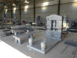 Jesus Escultura Headstones para lápides com Memorial de bancada