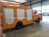 Porte Emergency de remontée pyramidale de véhicules de camion de lutte contre l'incendie