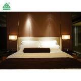 Zeitgenössische moderne Handelshotel-Möbel für Feiertags-doppeltes Bett