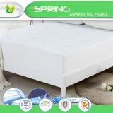 Protector hipoalérgico impermeable superior del colchón de Coolmax
