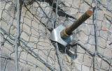 ワイヤーネットのRockfallの保護システムまたはFiexible斜面の保護システムの網のネット