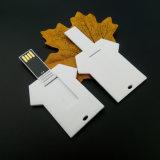 Mémoire Flash de crayon lecteur de couches mini USB 4gig d'entraînement par la carte de crédit