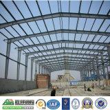 Estructura de acero de la luz de reciclable taller de construcción prefabricados