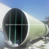 Einfaches Faser-Glas-Wasserversorgung-Rohr der Installations-GRP
