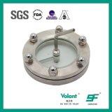 Glace de vue à flasque sanitaire de l'acier inoxydable SS316L de réservoir à lait