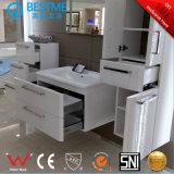 Armário de casa de banho de design quente com pedra artificial (X7089)
