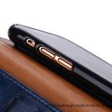 2В1 Magetic моды кожаное портмоне телефон чехол для iPhone X