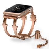 Nueva línea de la moda brazalete de acero inoxidable Correa de reloj para Apple ver