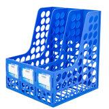 Gebruik 3 van het bureau Rek van het Dossier van Kolommen het Plastic