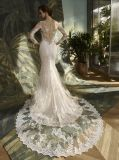 Sleeve length Laces Mermaid Bridal Dress Wedding Gown