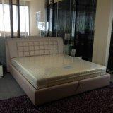 現代高品質の方法柔らかい革ベッド(SBT-16)