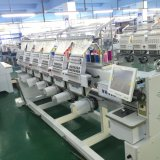 El casquillo de la máquina del bordado de 9 agujas automatizó la máquina principal del bordado 6 para la venta