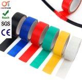 Fita de isolamento elétrico em PVC preto com núcleo interior de plástico (0,15mm*19mm*10m)