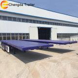 Tri-Axle 40ft 20ft 45FT Container Transport remorque lit plat