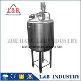 Calefacción y refrigeración de tres capas de revestimiento mezclador licuadora vertical