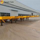 40 Fuß des Flachbett-halb Schlussteil-40FT Behälter-Schlussteil-Preis-in Tanzania