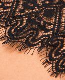 Шнурок франчуза ткани шнурка ткани 3D шнурка белой руки высокого качества оптовой продажи изготовления Китая Beaded