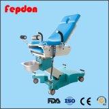 Basi di consegna dell'ospedale di uso di ostetricia con le rotelle (HFEPB99D)