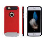 新しい到着熱い販売法iPhoneのための簡潔なPC&TPUの携帯電話の箱