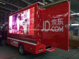 차량을 이동할 수 있는 발광 다이오드 표시 차 광고하는 4X2 소형 LED 2 톤