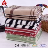 熱い販売優雅なデザインプリント北極の羊毛毛布