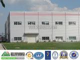Casa prefabricada de acero de la luz de los materiales de construcción prefabricados