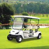 4 Auto van het Golf van de Prijzen van de Fabriek Seater de Elektrische met Dak (DG-C4)