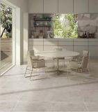 Hellgraue glasig-glänzende Porzellan-Fußboden-Fliese für modernes Haus